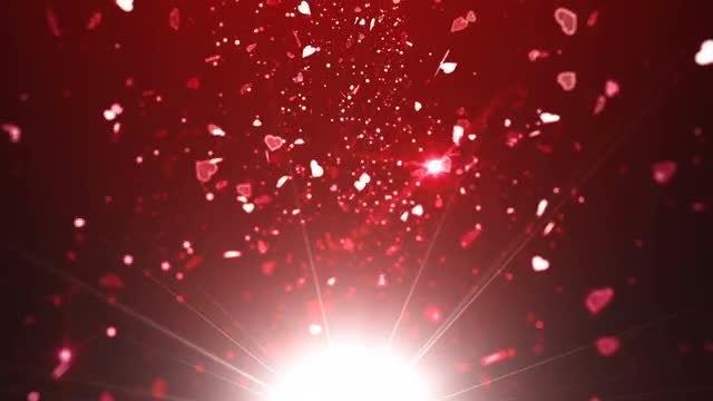 Glitter Hearts Torrent Pack: Stock Motion Graphics