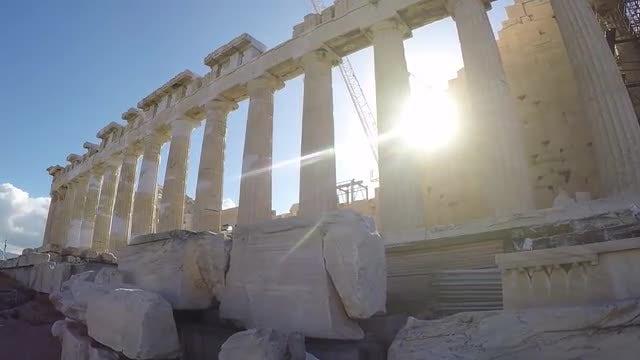 Acropolis Of Athens: Stock Video