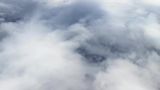 Flying Above Clouds: Stock Video