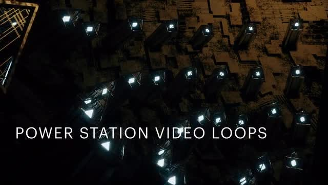Power Station Video Loops Pack: Stock Motion Graphics