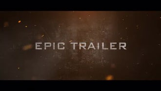 Epic Trailer: Premiere Pro Templates