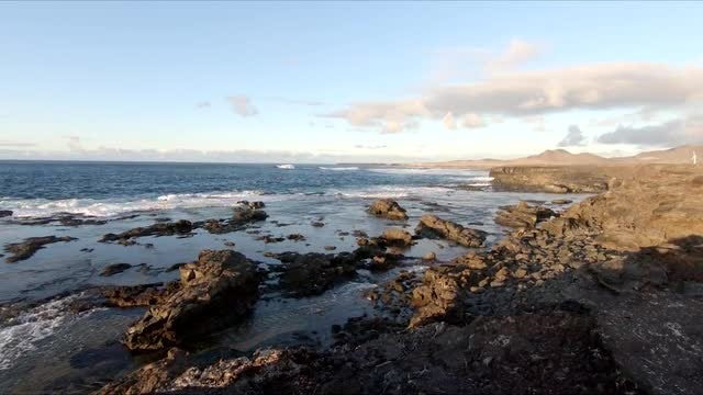 Ocean View On Canary Island: Stock Video