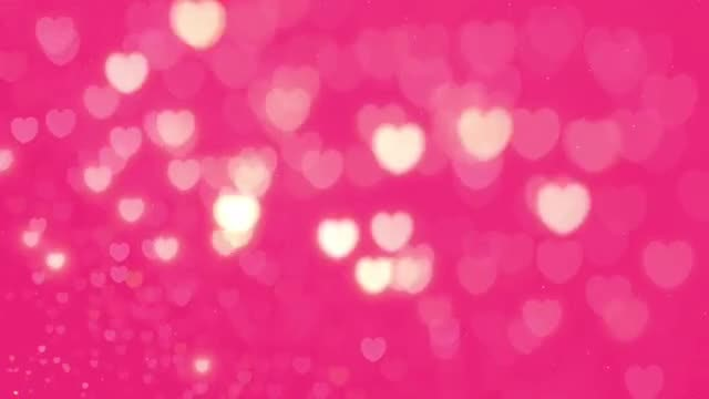 Sparkling Hearts: Stock Motion Graphics