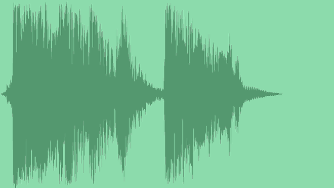 Epic Glitch Hit Logo: Royalty Free Music