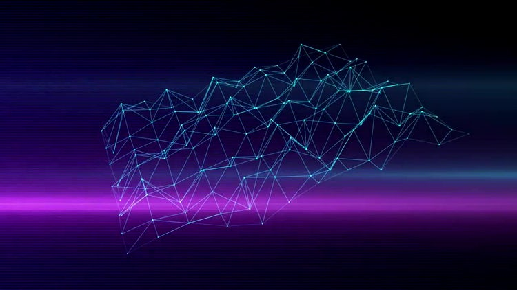 Pulsing Grid: Motion Graphics
