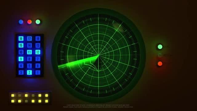 Radar Logo: Premiere Pro Templates