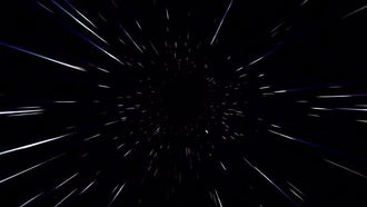Space Tunnel: Motion Graphics