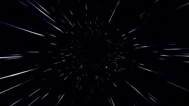 Space Tunnel: Stock Motion Graphics