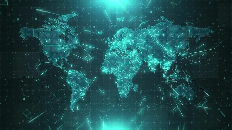 World map background cities connections 4k stock motion graphics world map background cities connections 4k stock motion graphics gumiabroncs