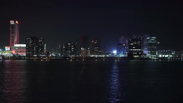 City On The River: Stock Video