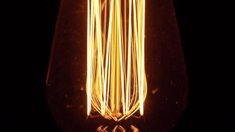 Light Bulb: Stock Video
