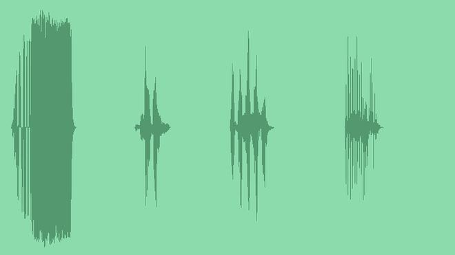 Creature In Fun Games: Sound Effects