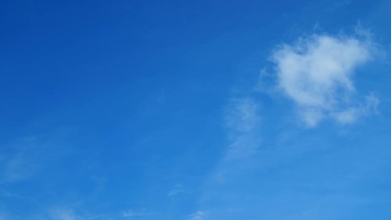 Clear Blue Sky 4k Time Lapse Stock Video Motion Array