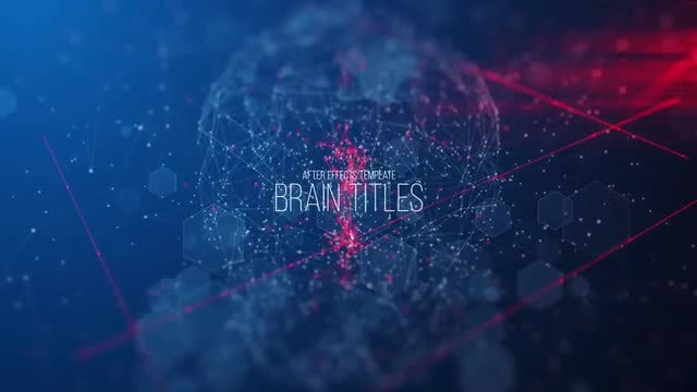 Brain Titles: After Effects Templates
