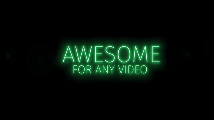 Flicker Light Titles: Premiere Pro Templates