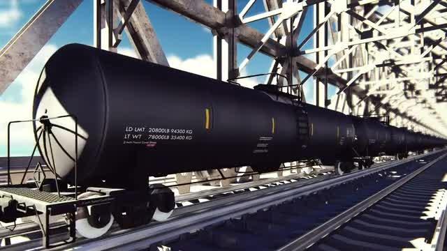 Oil Tanker Cars Pack: Stock Motion Graphics