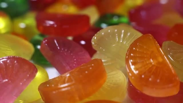 Colored Candy: Stock Video