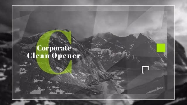 Corporate Pack Winter Moon: After Effects Templates