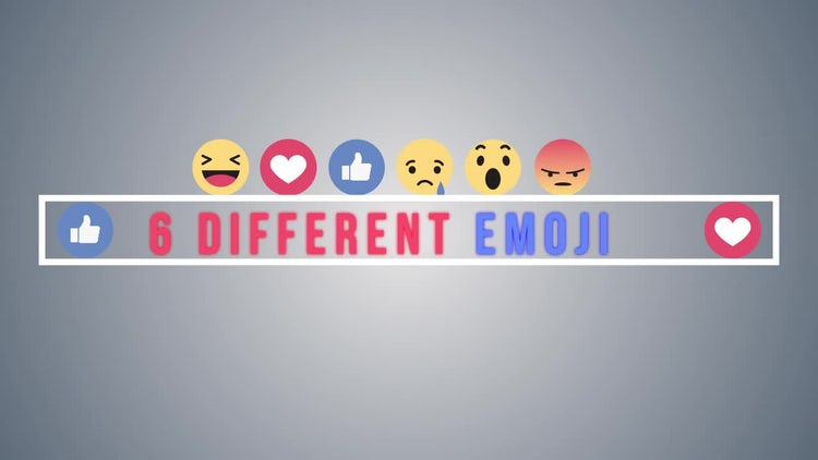 Facebook Reactions: Motion Graphics Templates