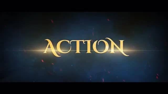 Games Epic Trailer: Premiere Pro Templates
