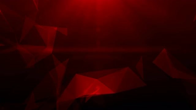 Red Geometry Background: Stock Motion Graphics