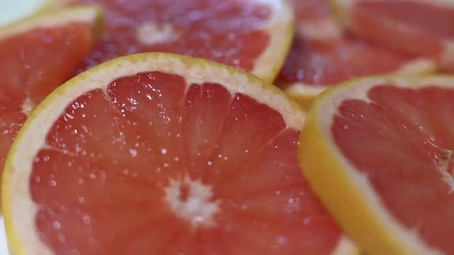 Grapefruit: Stock Video