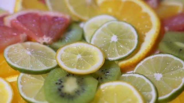 Fruit Slices: Stock Video