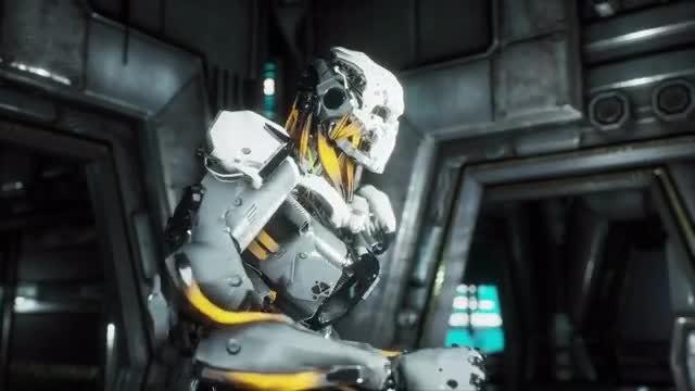 Robot Soldier Makes Grand Escape: Stock Motion Graphics
