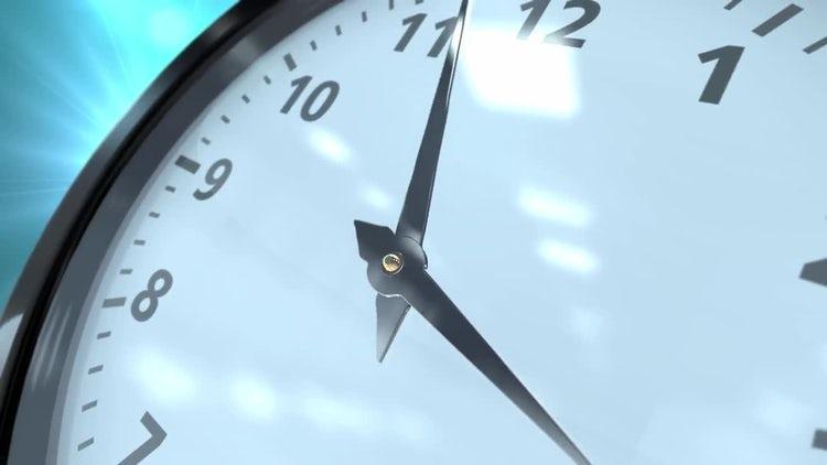 Animated Clock: Stock Motion Graphics