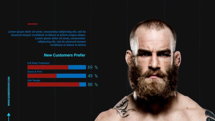 Barber Shop: After Effects Templates