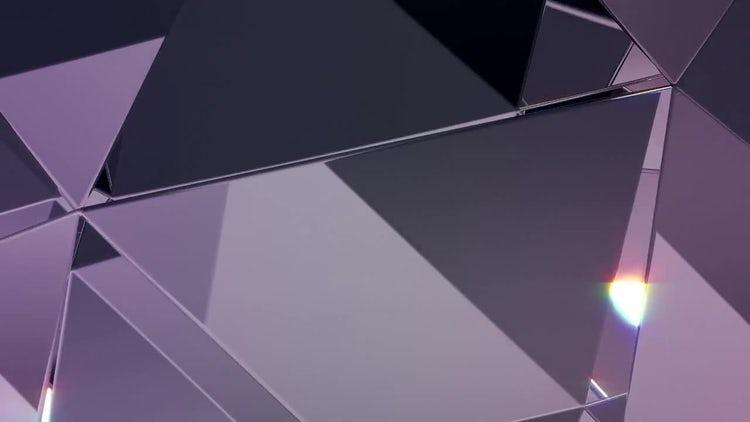 Diamond Refraction Loop BG: Stock Motion Graphics