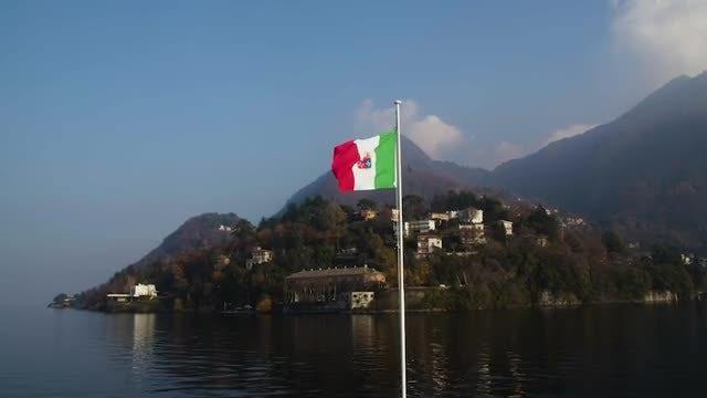 Italian Flag: Stock Video