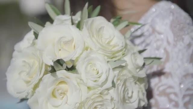 Blushing Bride: Stock Video