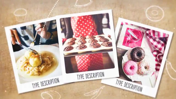 Food Show Complete Package: After Effects Templates