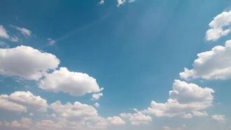 Sky Time Lapse: Stock Footage