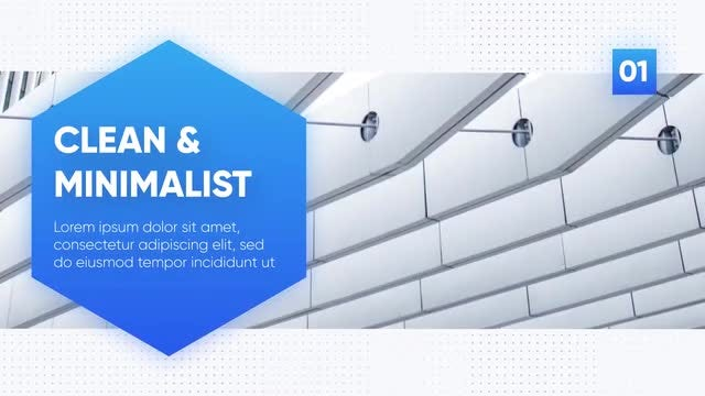 Clean & Minimalist Presentation: After Effects Templates
