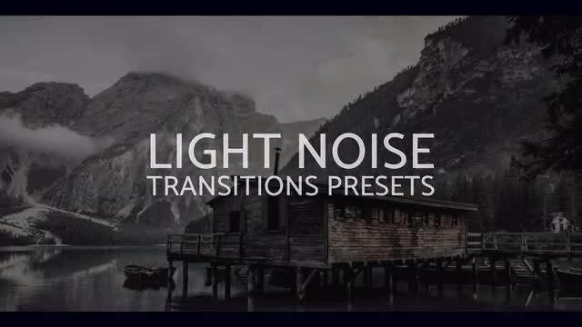 Light Noise Transitions Presets: Premiere Pro Presets