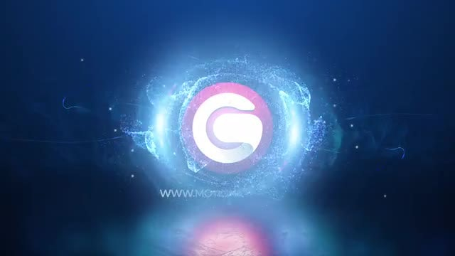 Magic Particles Logo: After Effects Templates