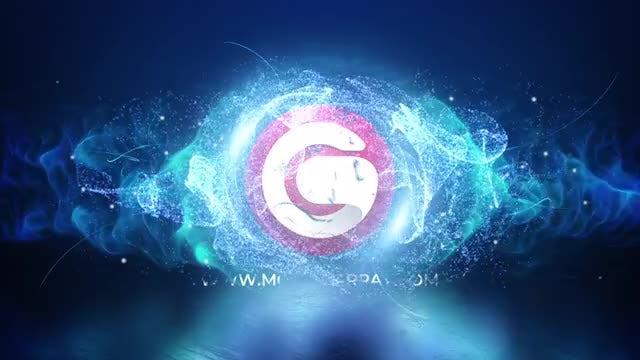 Magic Particles Logo Reveal: Premiere Pro Templates