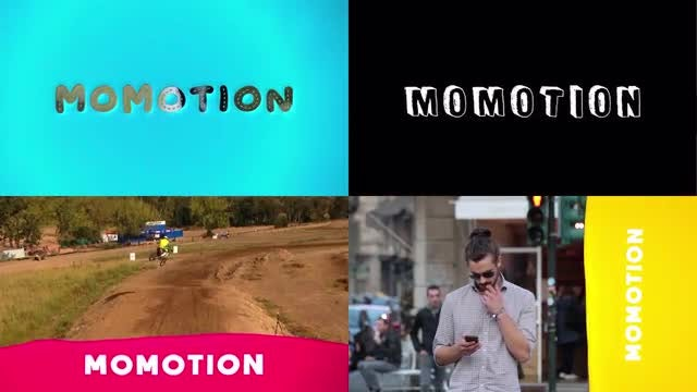 Splash Titles: Motion Graphics Templates