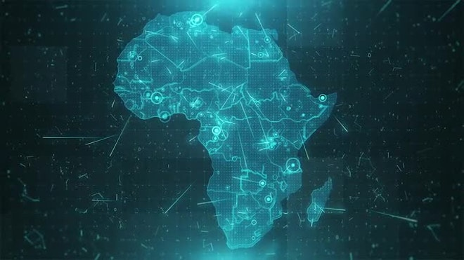 Africa Map Background   Stock Motion Graphics   Motion Array