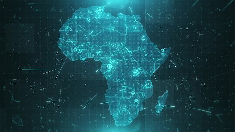 Africa Map Background   Stock Motion Graphics | Motion Array