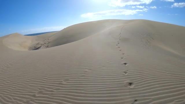 Sand Dune: Stock Video