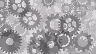 Gears Background: Motion Graphics