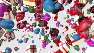 Celebration Background: Motion Graphics