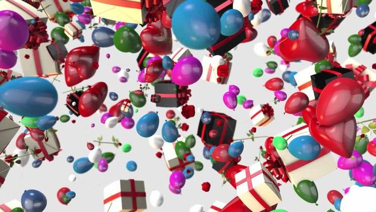 Celebration Background: Stock Motion Graphics