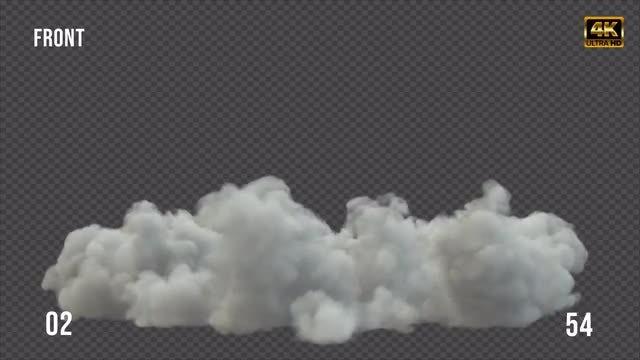 Smoke Shockwave Pack 02: Stock Motion Graphics