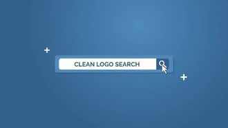 Clean Search Logo: After Effects Templates