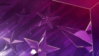 Red Stars Background: Motion Graphics