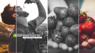 Minimal Slide Show: After Effects Templates